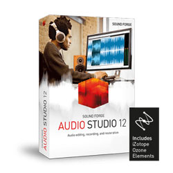 sound forge audio studio version12 izotope en 250