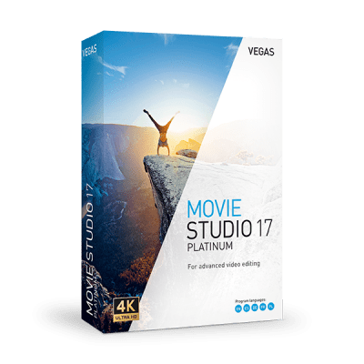 Vegas Movie Studio Platinum 17