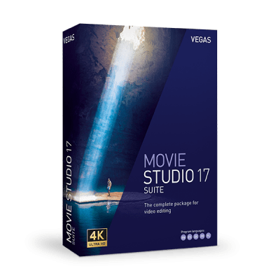 Vegas Movie Studio Suite 17