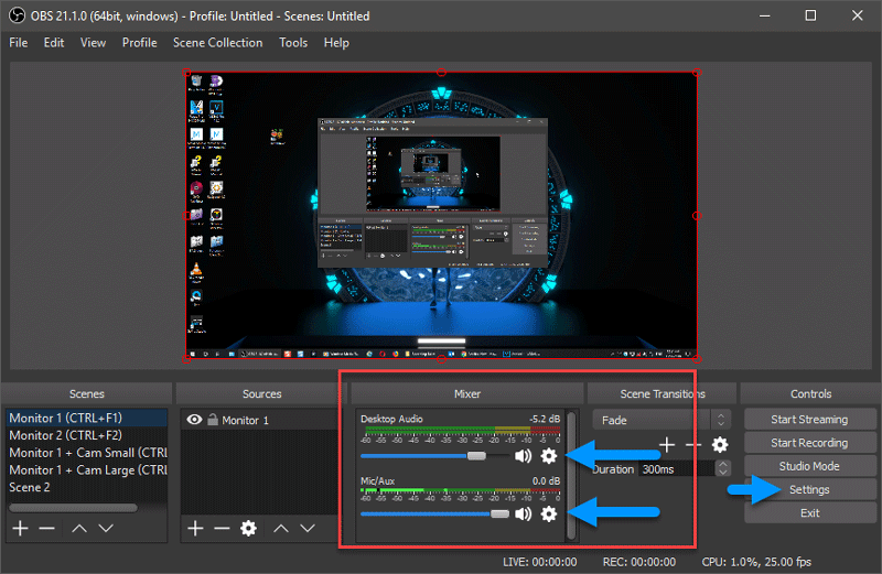 multiple audio tracks obs to vegas 1 thumbnail