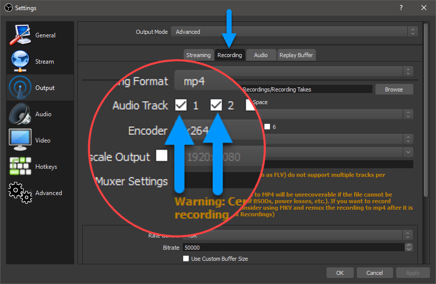 How to Import Multi-Track Audio from OBS into Vegas