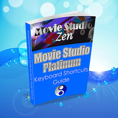 Keyboard Shortcuts for Movie Studio