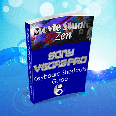 Keyboard Shortcuts for Vegas Pro