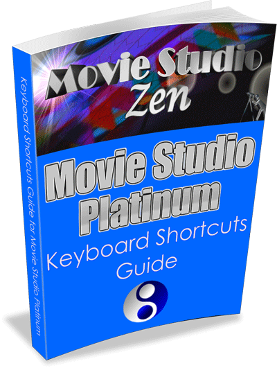 Sony Movie Studio Platinum Keyboard Shortcuts Guide