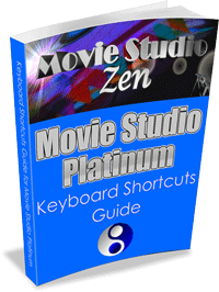 Movie Studio Platinum Keyboard Shortcuts Guide