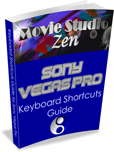 Sony Vegas Pro Keyboard Shortcuts Guide