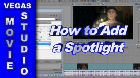 How to Add Spotlight and Shine using Sony Vegas Movie Studio Platinum