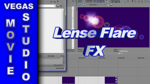 How to Apply Lens Flare FX to Video using Sony Vegas Movie Studio