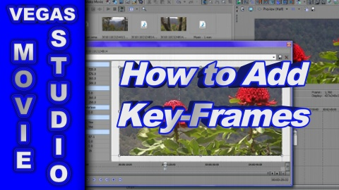 How to Animate a Video with Key-Frames using Sony Vegas Movie Studio