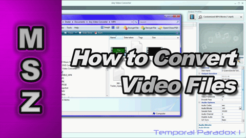 How to Convert Video Files into Different Codecs for Video Editing