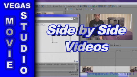 How to Create Side by Side Videos using Sony Vegas Movie Studio