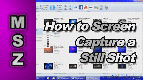 How to Take a Screen Capture of your Computer Screen