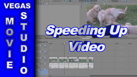 How to Speed Up or Slow Down Video using Sony Vegas Movie Studio