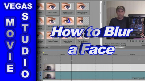 How to Blur Out Someone's Face using Sony Vegas Movie Studio