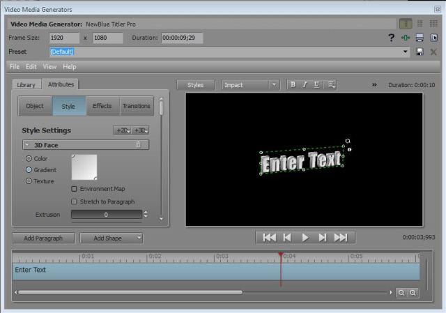 Video editing   VEGAS