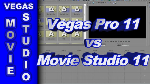 Sony Vegas Movie Studio HD Platinum 11 compared to Sony Vegas Pro 11