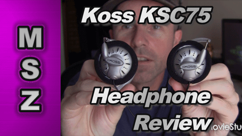 Koss KSC75 High Performance Over Ear Headphones Review