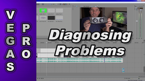 How to diagnose problems with using Sony Vegas Pro or Movie Studio