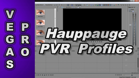 Which Hauppauge PVR Profiles work best in Sony Vegas ?