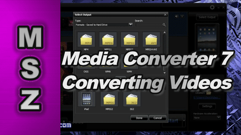 How to use Media Converter 7 to Create MPEG-2 Proxy Video Files