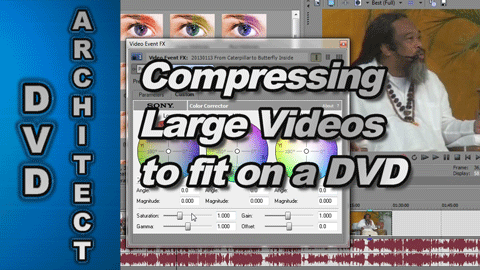 How to Compress and Fit a Long Video onto a DVD