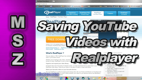 How to Save YouTube Flash Videos with Realplayer