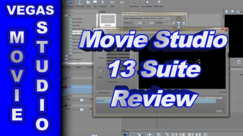 Sony Movie Studio Platinum 13 Suite REVIEW