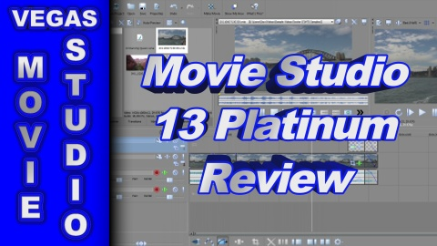 Sony Movie Studio Platinum 13 REVIEW