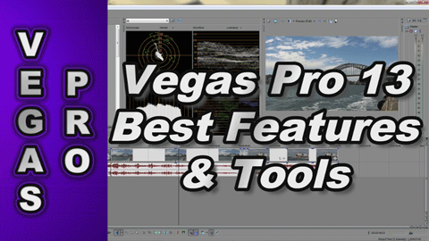 Sony Vegas Pro 13 REVIEW of Best Features & Tools