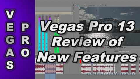Sony Vegas Pro 13 REVIEW