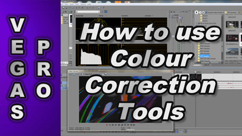 How to use Colour Correction Tools in Sony Vegas Pro