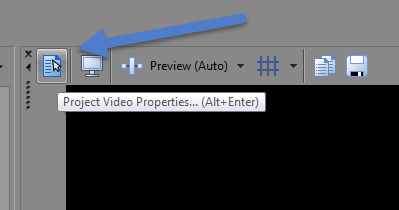 Project Properties button