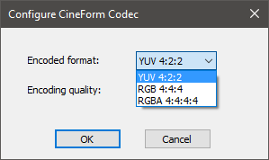 cineform codec export vegas pro 3