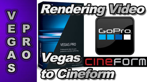 How to export Cineform video with Vegas Pro and Vegas Movie Studio Platinum