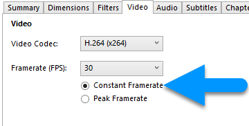 handbrake guide 18 4 video frame rate constant