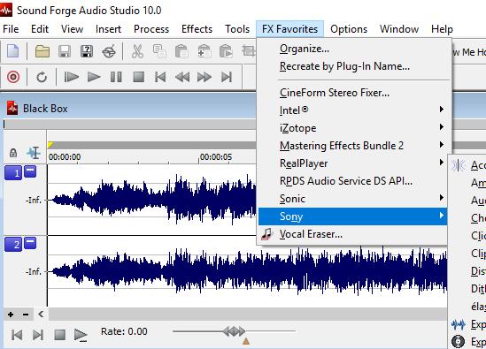 Pitch shift in Sound forge Audio studio 10 - MSZ Forum